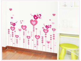 Wholesale 2015 hot sale morden family decor flower wall sticker