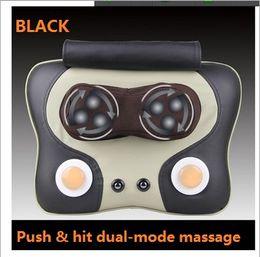 Multifunctional heating massage pillow,neck and waist back massage cushion