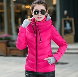 Wholesale winter parkas womens down cotton padded jacket women clothing female wadded jackets snow wear winter coat women