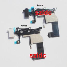2017 cargos cables iphone Nuevo cargador de carga de reemplazo puerto de conector Dock cable flexible para el iPhone 5 Negro / blanco Envío Gratis presupuesto cargos cables iphone