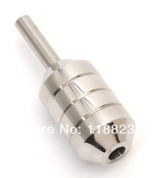 Wholesale-Special Supply 304 Stainless Steel Round Tone Grip Candy Shaped Stainless Steel Grip Fits All Stardard Tubes Stems and Tips 463