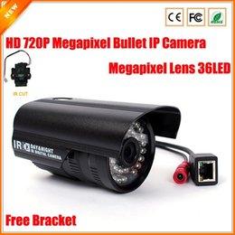 Bullet IR Outdoor Waterproof Camera IP 720P Megapixel Network IP Camera Outdoor Surveillance CCTV Megapixel Lens IR Cut Filter