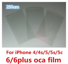 Wholesale BEST Quality um OCA for iphone g s g s c plus Optical Clear Adhesive Glue Sticker OCA Film for samsung galaxy s3 s4 s5 s6 note