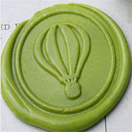 Wholesale Vintage Balloon Custom Picture Logo Wedding Card Invitation Wax Seal Stamp Set