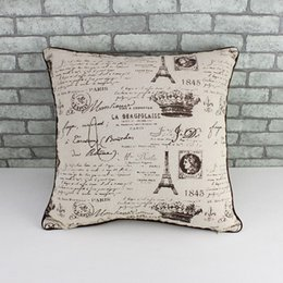 Wholesale ZAKKA decorative indoor pillow case for sofa car woman ikea pastoral style cotton Linen Cloth pattern cushion cover