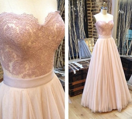 Sexy 2015 Prom Dresses A-Line Sweetheart Natural Waist Tulle Bottom Applique Backless Modest Long Party Gowns