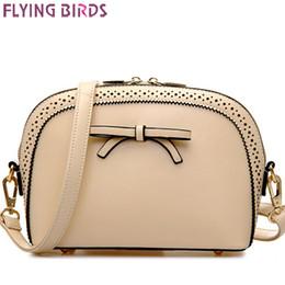 Wholesale-FLYING BIRDS! women messenger bags women bag leather handbag brand shoulder bag handbags shell style high quality pouch LS4852fb