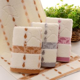 Wholesale face towel cotton towel Small umbrella pattern soft cotton towel wedding towel Beach Vacation own towels Carry essential DHL freeship