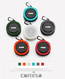 Wholesale 2016 New My vision Outdoor Sport Car Portable Waterproof Shockproof Wireless Bluetooth Speaker C6 Online Shipping