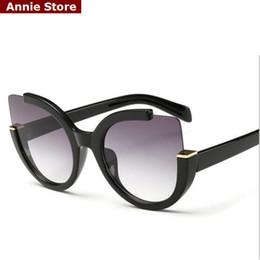 Wholesale-Vintage 2016 new cat eye sunglasses women new 2016 luxury woman sunglasses designer brand cateye black discount UV400 gafas sol