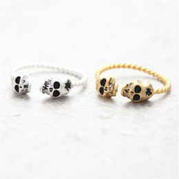 Two CrossBones Cluster Rings Exquisite Cluster Rings Unique Cluster Rings 2016 New Arrival for Sale 2