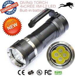 Wholesale AloneFire C013 Waterproof LED Diving Flashlight Lumens XCREE XML L2 XML L2 Diving Torch Led Flash Light lanttern Flashlight Underwater
