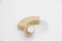 Wholesale 50 off sale for family for friend Convenient and small Best Sound Voice Amplifier BTE Hearing aid Hearing Aid Aids