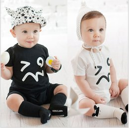 Baby Boys Girls Summer Romper 2018 New Hot Sale Toddle Short Sleeve Rompers Infant Baby Jumpsuit One-Piece Kids Climbing Clothing Bodysuits