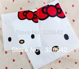 100pcs libera el envío 14 * 14cm logo bolsa de regalo de plástico de dulces galletas de impresión, banquete de boda de plástico favor bolsas de regalo de embalaje desde logotipo bolsa de plástico paquete fabricantes