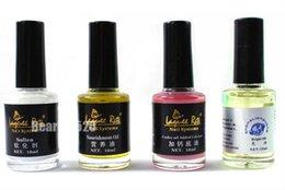 Wholesale set Hand Feet Nail Care Nursing Oil Packs Under Oil Added Calcium Soften Nourishment Cuticle Bright Oil Nail Art Tool Kits