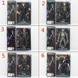 Wholesale NECA The Terminator Action Figure ENDOSKELETON Figure toy Collectable Model Toy Styles EMS