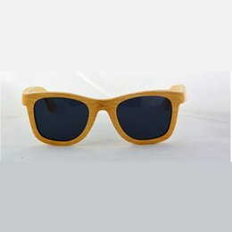 Wholesale New pattern Selling Wood Sunglasses Bamboo Sunglasses Wooden spectacles RETRO SUNGLASSES Arts and Crafts OEM OEM production