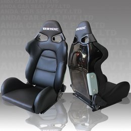 Wholesale BRIDE CUGA paragraph SPQ modified PVC leather seat car seat fiberglass racing seat