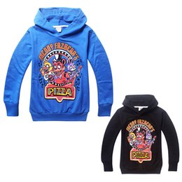 Five Nights at Freddy's kids hoodie and sweatshirt cotton anime long sleeves Autumn kids hoodie sweatshirt for 4-14years children clothes