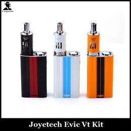 Evic VT Kits Joyetech Evic VT Kit E Cigarettes 5000MAH Vape Battery Kit Temperature Control 60W Mods Ego One Mega Vaporizer Tank