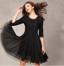 Womens clothing ladies fitted slim Lace Embroidery ruffles beaded ball gown chiffon dress Formal Prom Cocktail Evening Party Dress 2399
