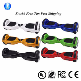 Bluetooth Hoverboard in US UK Eu Stock 2 wheels Smart Scooter Balance Electric hoverboard Scooter UL certificated With LED Light Fast Ship