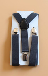 Wholesale Total Charcoal Gray Grey Suspender y mas colores elegir opciones alternativas