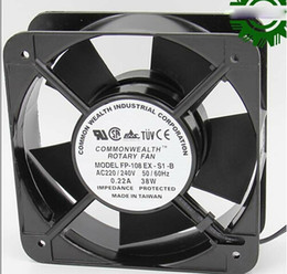 Wholesale Square ROTARY FP EX S1 B AC Axial Fan with Ball Bearing AC V Hz A W Wires aluminium alloy Frame