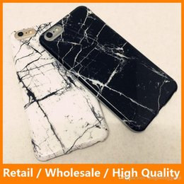 Wholesale 2016 New Arrival Marble Phone Case Soft Slim Silicone Granite Gel TPU Back Shell Cover for iPhone6 s Plus sPlus Shockproof