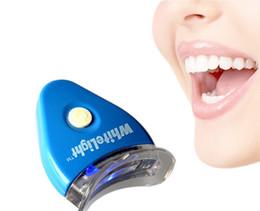 Wholesale Free DHL Dental Tooth Teeth Cleaner Whiten Whitening Whitener System Whitelight Kit Set With OPP Package