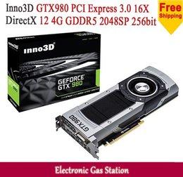 Wholesale Inno3D GTX980 NVIDIA GTX GB GDDR5 bit DirectX DisplayPort SP HDMI DVI Desktop Graphics Card