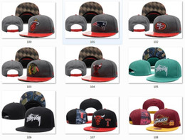 Wholesale New Arrive Mens Womens Basketball Snapback Baseball Snapbacks All Team Football Snap Back Hats Flat Caps Hip Hop Snap Backs Cap Sports Hat