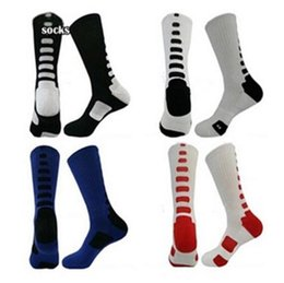 Wholesale 7 Colors Free Size Men s Light Cushioned Dri Fit High Performance Cool Basketball Crew Socks