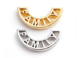 Wholesale 20pcs Silver Gold Plated Family Floating Charms Window Plates Fit For Magnetic Memory Glass Locket