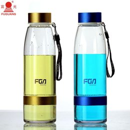 Wholesale My botle FGA ml shaker Simple fashion Transparent portable resistant sports nutrition custom shaker bottle