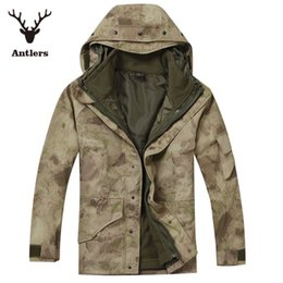 Wholesale American desert digital camouflage clothing in the field G8 camouflage fleece windbreaker hunting winter jacket XS XXL