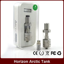 Wholesale Horizon Arctic Tank Arctic Atomizer Sub Ohm BTC BTDC Coils Fit for watt Box Mod VS Toptank Mini Uwell Crown Tank