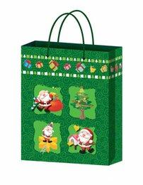 Wholesale Coated paper Christmas gift bag Fashion handbags According to customer request design production OEM print customer logo1