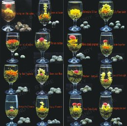 Wholesale New Styles Kinds China Blooming Tea Art Viewing Blossom Flower Novelty High Quality ProcessTea