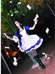 Wholesale Alice Madness Returns cosplay costume halloween costumes for women girls any size can Custom made