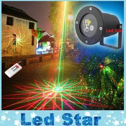 Wholesale SUNY Outdoor Laser Light Christmas Red Green Patterns Waterproof Garden Lights Firefly Landscape Light Projector Remote Control