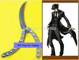 Wholesale Animate PVC Folding Knife BLAZBLUE Anime Cosplay Hazama Prop Costume cm