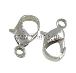 Wholesale Silver Gold plumbum Black antique bronze Plated Lobster Claw Clasps For Jewelry Making Value Pack Box Set Assortment