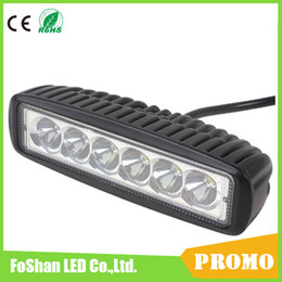 [SALE] 6 Inch 18W LED Work Light Bar Lamp for Driving Truck Trailer Motorcycle SUV ATV OffRoad Car 12v 24v Flood Spot