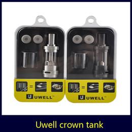 Compra Online Mejor rba-El tanque del ohmio de la corona de Uwell el mejor para el tanque de la corona RBA de Xcube2 Xcube Mini de DIY del UFO de Smok VS Smok TFV4 iSub Apex el envío libre del atomizador