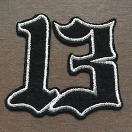 Wholesale 2015 cm CM digital Badge embroidered Appliques DIY accessory garment bag hot paste patch