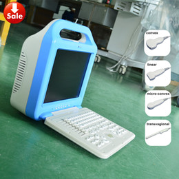Wholesale Laptop ultrasound scanner laptop ultrasound abdonimal scanner for human use with two probes convex transvagional
