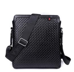 mens genuine leather briefcase bags men's plaid black fashion shoulder bags dress crossbody bag men european brand bags