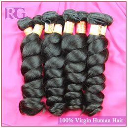 Cheap Brazilian hair Peruvian Malaysian Indian Loose wave human hair wholesale 10pcs lot unprocessed virgin hair free shipping